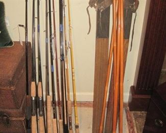 New fishing rods by Orvis and other brands.