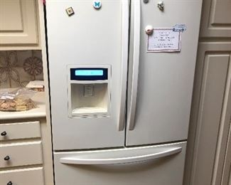 Kenmore Elite Smart French Door Refrigerator Bottom Freezer – White