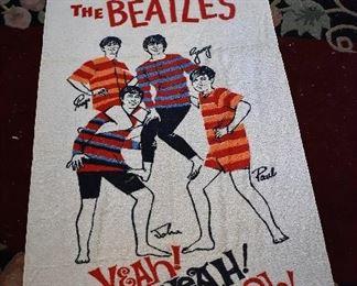 Rare Beatles Beach Towel