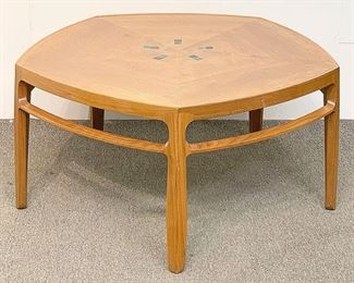 "Lot 71: Edward Wormley for Dunbar ""Janus"" Coffee Table"