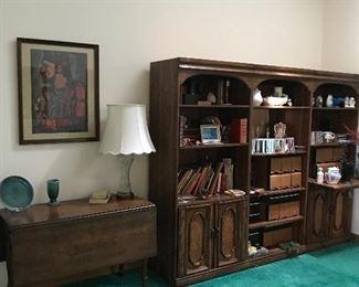 Wall unit bookcases 30 w x 18.5 d x 72 t