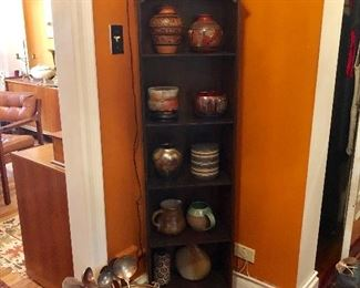 Large collection of pottery