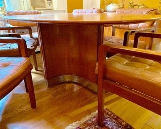 MCM detail dining room table