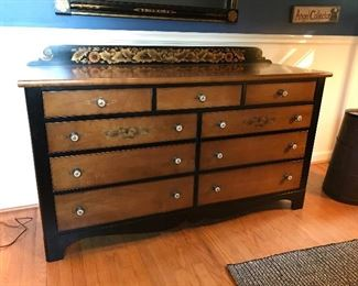 Hitchcock dresser with mirror