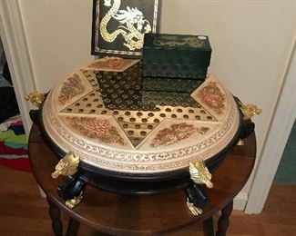 FRANKLIN MINT CHINESE CHECKERS COLLECTORS SET