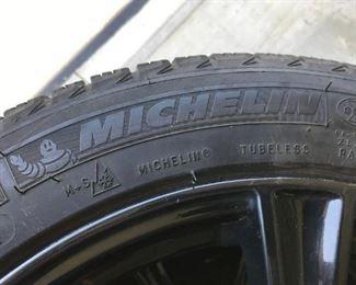 Michelin 215/50/R17  X ICE Snow Tires on Alloy Rims
