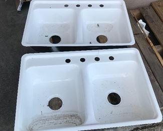 Kilgore Sinks. There are many many of these available.