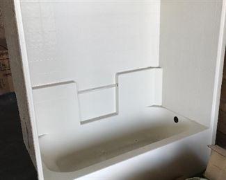 Shower/bathtub stall inserts