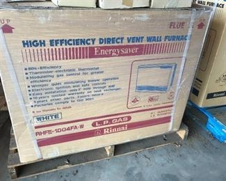 Rinnai heaters available in Liquid Propane models