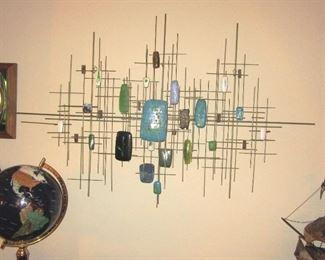 Deppman mid century art piece
