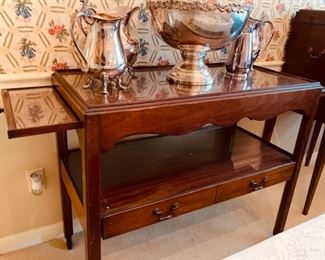 Fine Mahogany Server