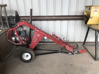 Little Beaver auger, towable and used twice!