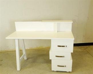 White Students Desk