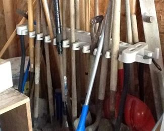 Shovels, Racks and other Hand Tools