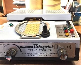 L&R Tickoprint Transistor