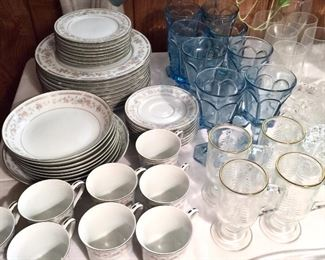 China and glass tableware