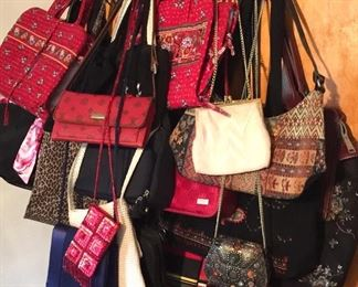Women's purses and makeup bags, Vera Bradley and other brands