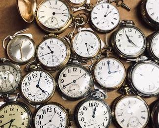 Beautiful pocket watches