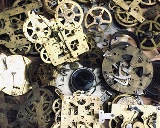 Clock gears and mechanisms