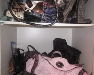 Tons of Designer Clothing W Sizes 6 to 12 Designer Handbags Designer Shoes 6-1/2 to 8