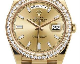 Rolex Men's Gold President
