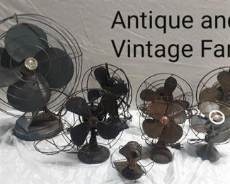 Antique and Vintage Fans