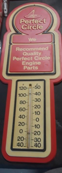 Vtg. Perfect Circle Thermometer