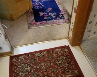 Oriental and Chinese rugs