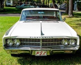 1963 Oldsmobile Starfire. VIN: 636A02869. Mileage: 70,786. 2dr Holiday Coupe 8-cyl. 394cid/345hp 4bbl. Needs brakes. Summer driven only, stored in garage during winter.