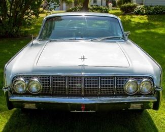 1964 Lincoln Continental. VIN: 4Y82N424339. Mileage: 104,764. 8-cyl. 430cid/320hp 4bbl. Needs brakes. Summer driven only, stored in garage during winter.
