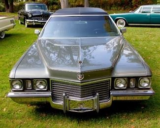 1972 Cadillac Factory Limo. VIN: 6F33R2Q164471. Mileage: 52,048. 4dr Limousine 8-cyl. 472cid/220hp 4bbl. Summer driven only, stored in garage during winter.