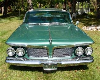 1962 Chrysler Imperial Crown. VIN: 9223174283. Mileage: 107,036. 4dr Hardtop Sedan 8-cyl. 413cid/340hp 4bbl. Summer driven only, stored in garage during winter.
