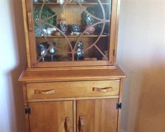 Vintage Craftsman Style Hutch.