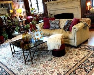 The Living room Is Filled With Fine Furniture and Treasures!...
