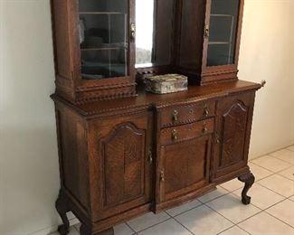 Antique bureau w/ stunning detail