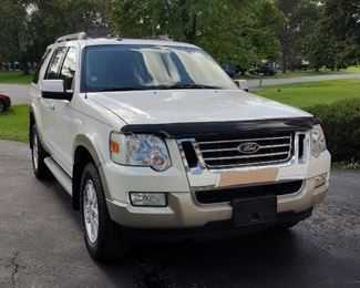 SOLD 2010 Ford Explorer Eddie Bauer Edition 4WD w/  11,266 miles - will sell prior to sale. SOLD