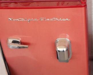 Nostalgia Electrics RARE red refridgerator