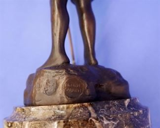 French Bronze by Bastiane w/ signature & foundry mark