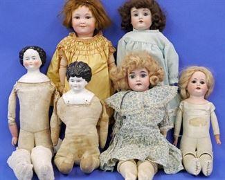 German Porcelain Dolls
