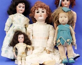 Simon Halbig, Queen Louise, Lenci and other dolls