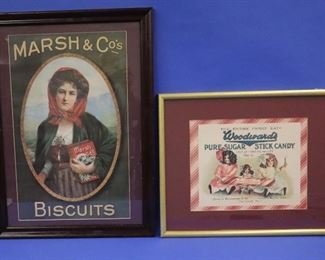 Advertising Lithographs, early 20th c.