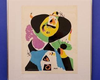 Joan Miro, Serigraph on Archival Paper