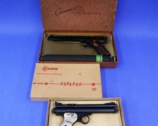"""Crosman """"Pellgun"""" Pellet Pistols (Models 112 & 150)"""