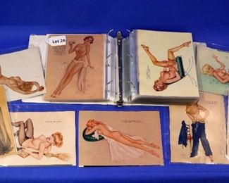 26.A Collection 196 Alberto Vargas & George Petty Pin-Up Girls