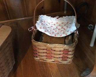 Wonderful baskets. Longaberger baskets