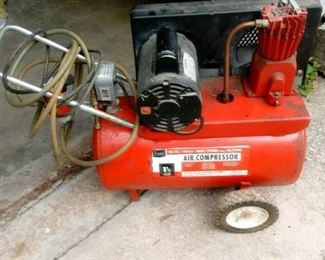 Sears 1.5 hp, 15 gal 100psi Air Compressor