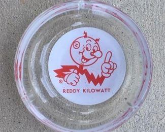 1960's Reddy Kilowatt Ashtray