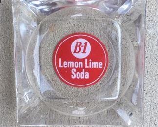 1950's B-1 Lemon Lime Soda Ashtray