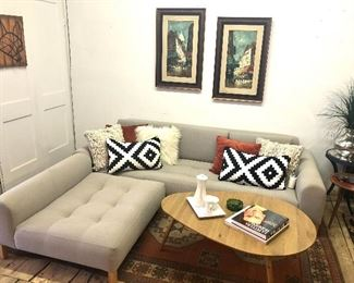 Style on with this lovely and versatile sofa.
