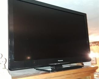Panasonic flat-screen TV  35 in wide